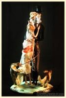 Папер клей, шелк, натуральный мех, 61 см, 2010