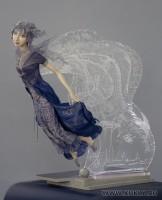 ладол, гравировка по акриловому стеклу, 52 см, 2009