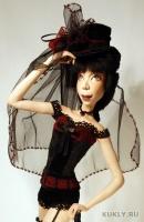 La Doll, высота 54 см, ширина = длине 16 см, 2011