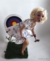 La Doll, высота 45 см, ширина 22 см, длина 28 см, 2012