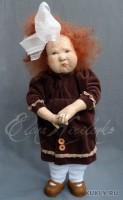 Living Doll, краски масляные, бархат, хлопок, шерсть, 34 см, 2011