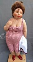 Living Doll, краски масляные, хлопок, шерсть, лак, 50 см, 2011