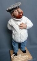 Living Doll, краски масляные, шерсть, хлопок, 38 см, 2010