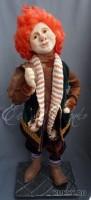 Living Doll, краски масляные, шерсть, хлопок, бархат, кожа, 65 см, 2012