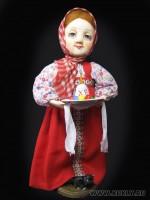 премьер, роспись - акварель, 21 см, 2011