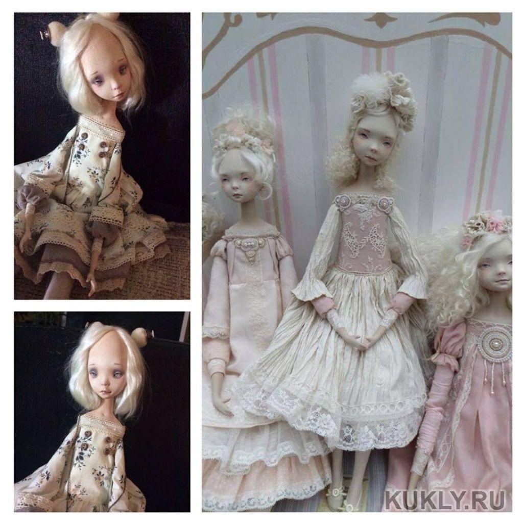 Как в домашних условиях сделать фарфоровую куклу 17