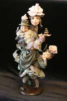 фимо, натуральный шелк, 43 см, 2004 г.
