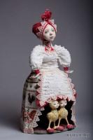паперклей, текстиль, акрил, папье-маше, 51 см, 2012