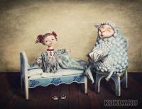 паперклей, акрил, текстиль, 36 см, 2012