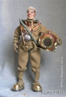 эпоксилин, фимо, медь, латунь, бронза, свинец, сталь, текстиль, 19.7 см, 2012