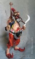 эпокмилин, фимо, медь, латунь, бронза, сталь, текстиль, кожа, дерево, шерсть, 18 см, 2012