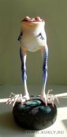 Paper Clay + Magic-ckulpt, папье-маше, 25 см. с подставкой, 2011