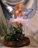 Fimo Miniature, Высота композиции –15 см. Высота куклы –13 см, Февраль, 2008 г.