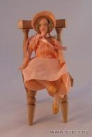 Fimo Miniature, Cernit, Высота композиции –15,5 см. Высота куклы –16 см., Май, 2008 г.