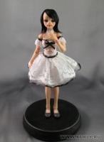 Fimo Miniature, Высота композиции –19,5 см. Высота куклы –17,5 см., Октябрь, 2009 г.