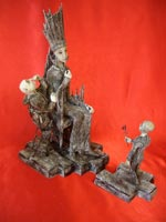 DAS,  дерево, текстиль, кожа, бумага, металл, 34х20х34 см (ДхШхВ), 2008