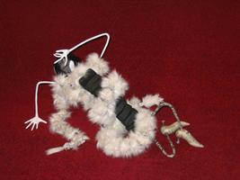 папье-маше, мех, 35х56 см, 2007 г.