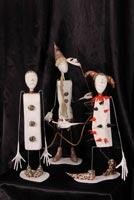 папье-маше, проволока, кожа, , 2007 г.