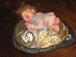 фимо, папье-маше, картон, бисер, 5,5 см, 2006 г.
